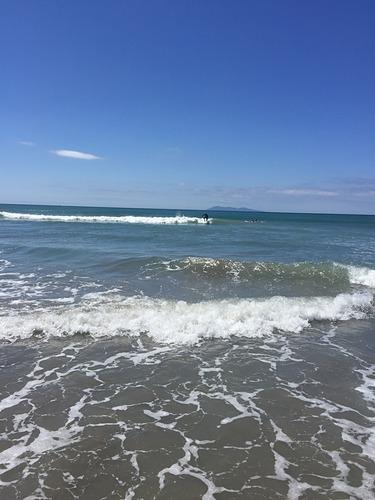 lil wave, Waihi Beach