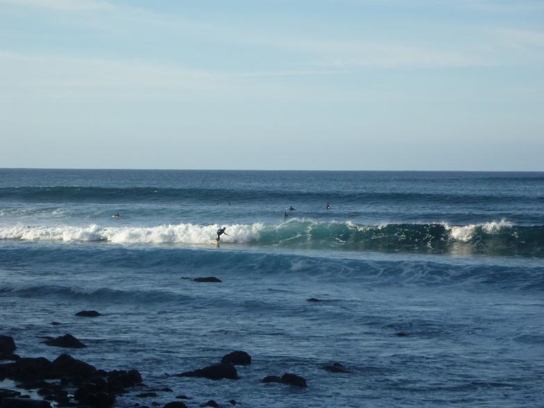 El Charco (Bajamar) surf break