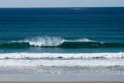 Long period swell, La Palue photo