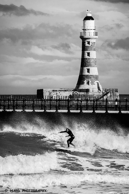 Roker Beach surf break