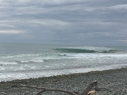 Cyclone swell at Schnappers, Schnappers Point photo