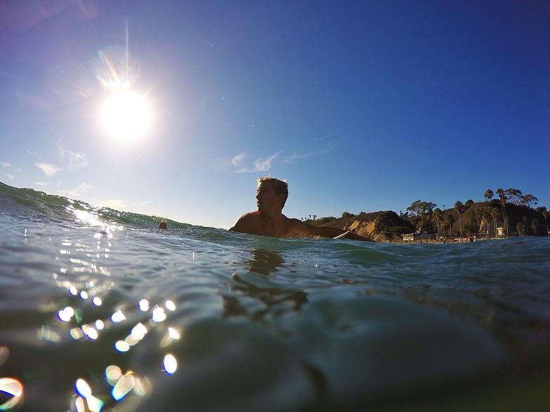 Hendry's Beach surf break