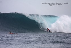 Biggest swell of 2011, Sultans photo