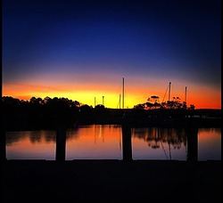 Sassy Sunset, Evans Head-Airforce Beach photo