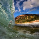 Rambo's barrel, Sandy Beach