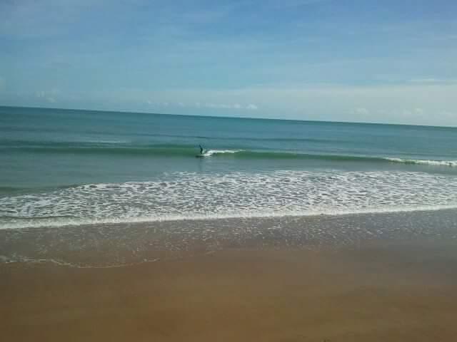 Rapid Creek - Beach surf break