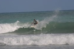 backside - North Coast of the Dominican Republic surf, El Coson photo