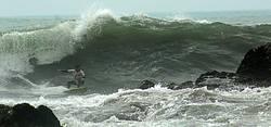 Rolo, a local surfer, Centinela photo