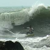 Rolo, a local surfer, Centinela