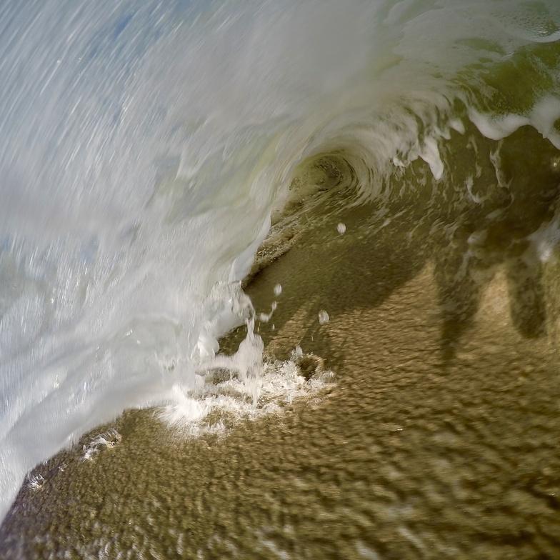Waipatiki surf break