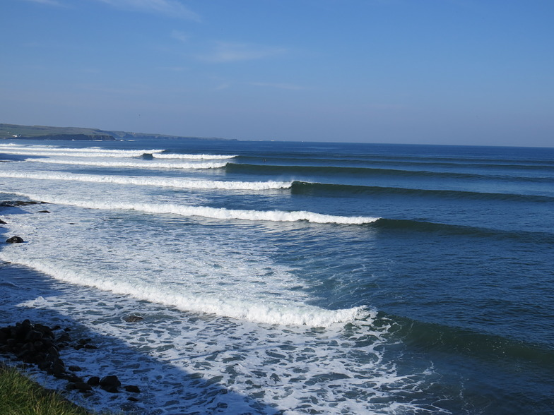 Cornish Reef surf break