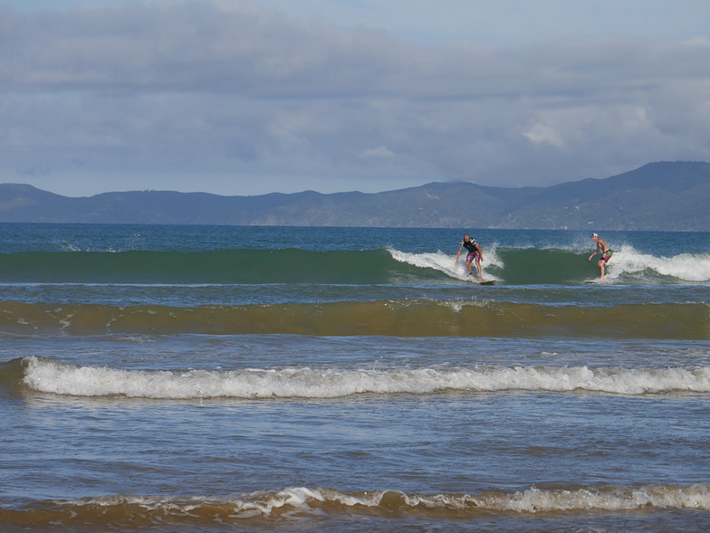 Tokerau Beach or Doubtless Bay surf break