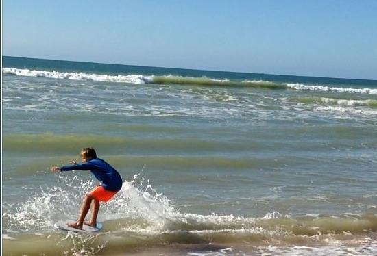 Julias surf break