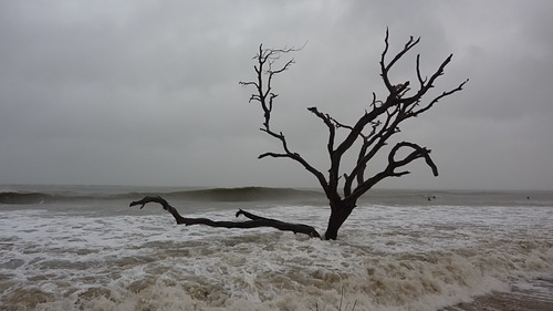 Hurricane Sandy Surf at Grandview