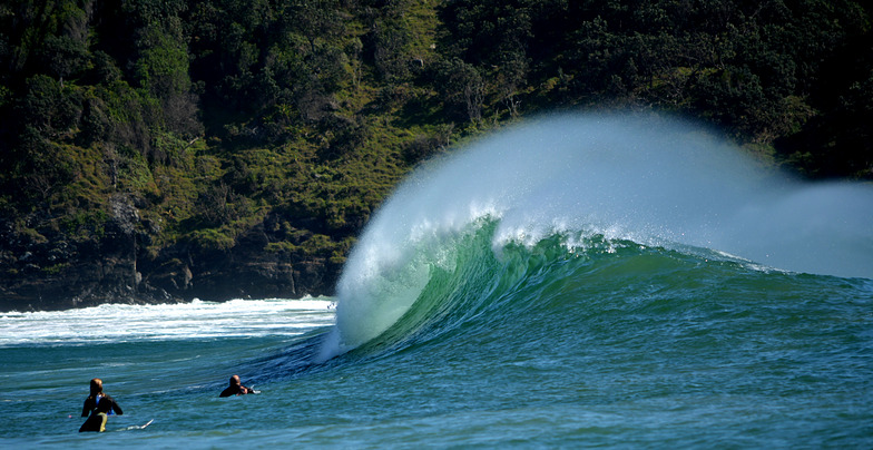 Diggers surf break