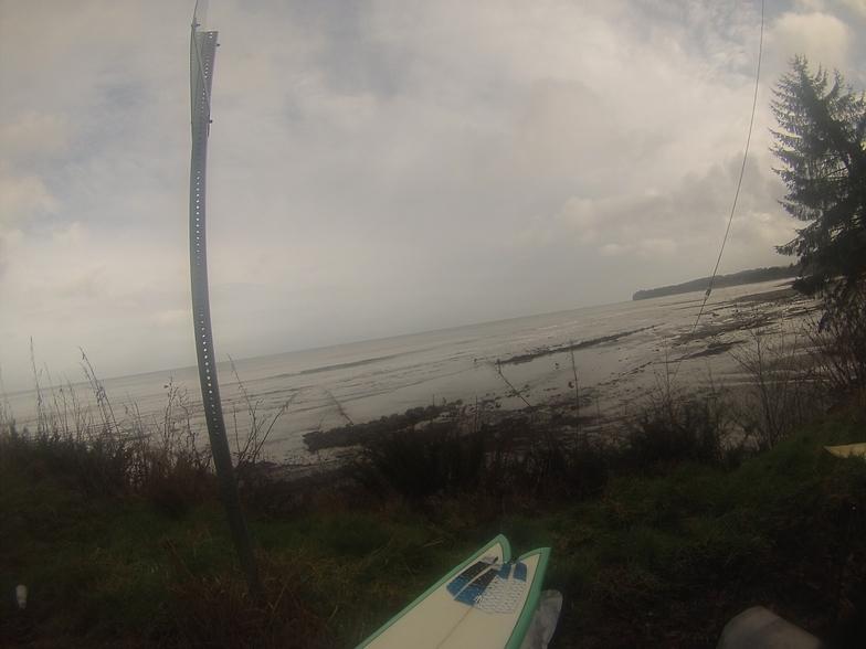 winter surf, The Strait