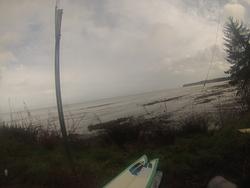 winter surf, The Strait photo