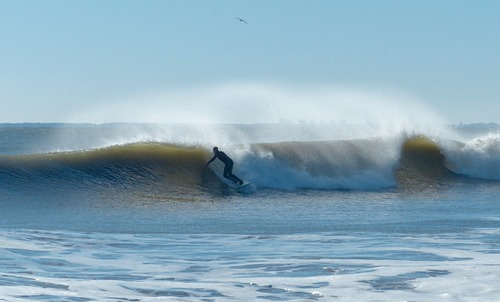 January 2016 Nor'easter swell, Grandview
