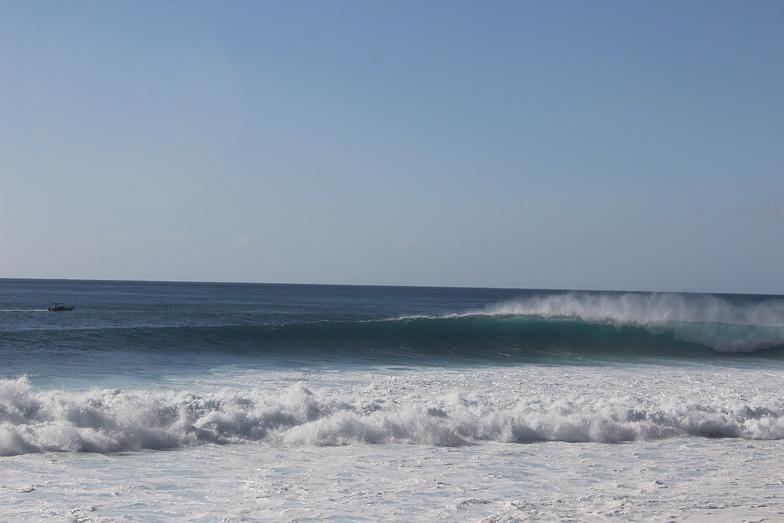 Jardim do Mar surf break