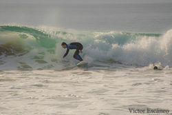 Nerga derecha, Playa de Nerga photo