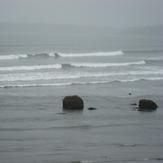 red rocks, Lynne Beach
