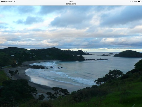 Moureeses  Beach from Mouwhara, Whananaki Beach
