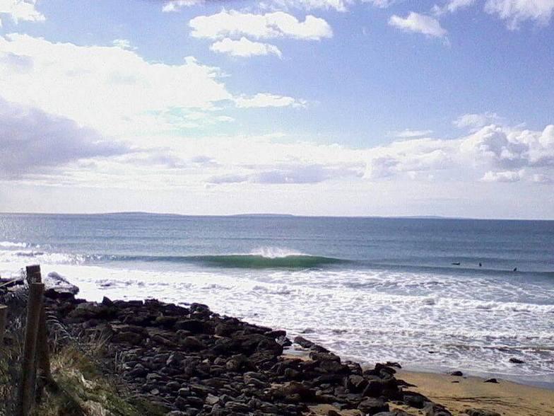 Fanore surf break