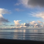 Dusk at Orewa, Orewa Beach