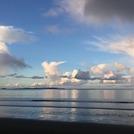 Dusk at Orewa, Orewa Beach