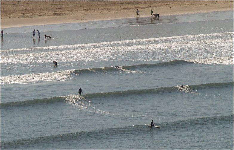 Croyde surf break