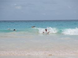 Body surf, Horseshoe Bay photo