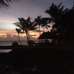 Sunset at Sa'Moana Resort, Salamumu photo