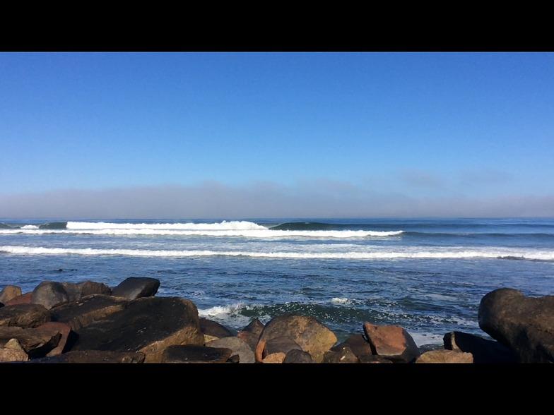 Thicklip surf break