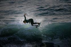 Nice surfing, Oceanside Pier photo