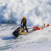 Oceanside lifeguard, Oceanside Pier