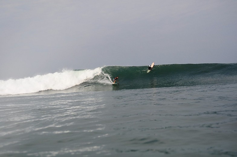 The Ranch surf break