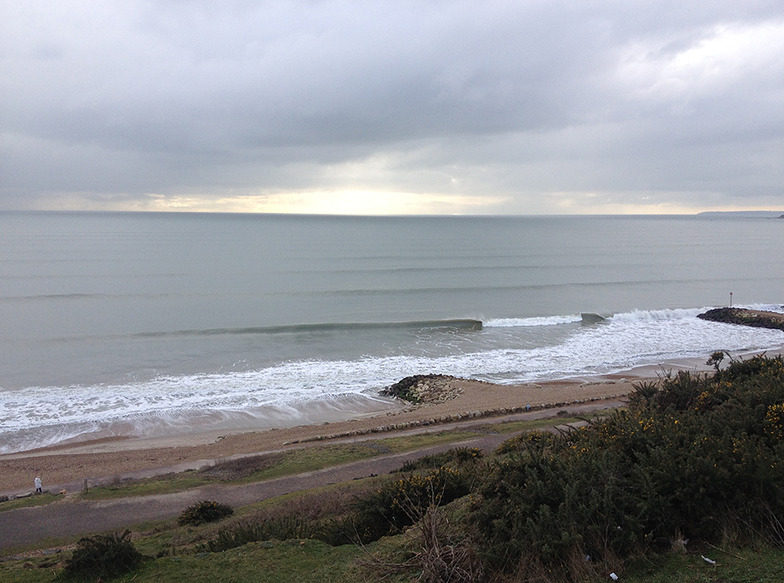 Highcliffe surf break
