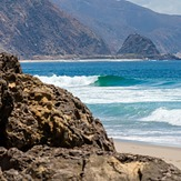 Ankle slappers at Point Mugu