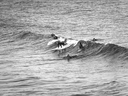 Surf's up, Tynemouth Longsands