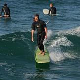 Longboard Cruising at Blackies, Newport Beach