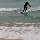 Catching small waves, Snapper Rocks