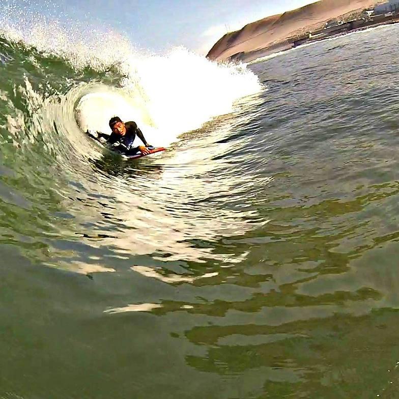 El Rancio surf break