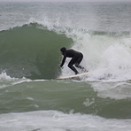 Winter Surfing in Adkadia, Arcadia