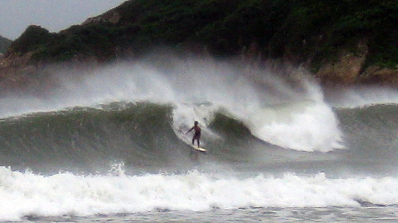 Big Wave Bay surf break