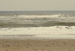 Sizeable slop at Happisburgh photo