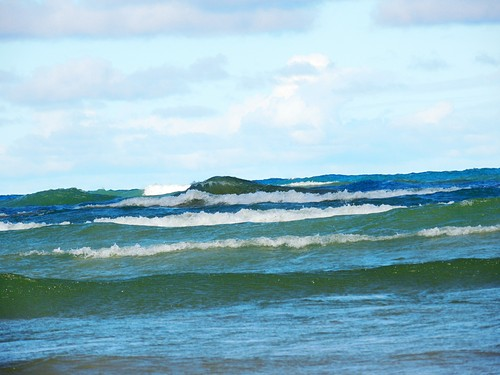 Windy Day At Sauble Beach Ont 2012