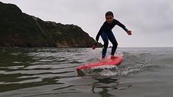 David en playa de Cadavedo photo