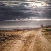 Tubular Cloud Breaks, Quintana Jetty