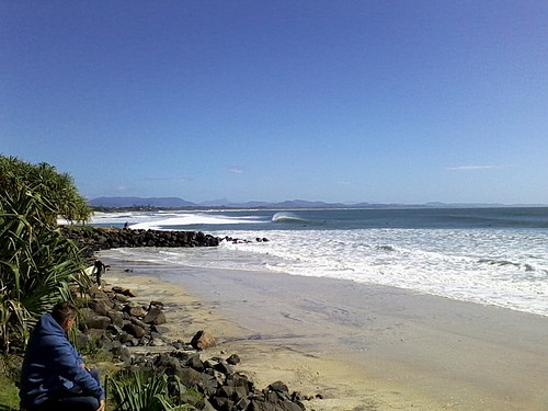 Clean, Empty & Unridden, Byron Bay - The Wreck