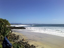 Clean, Empty & Unridden, Byron Bay - The Wreck photo